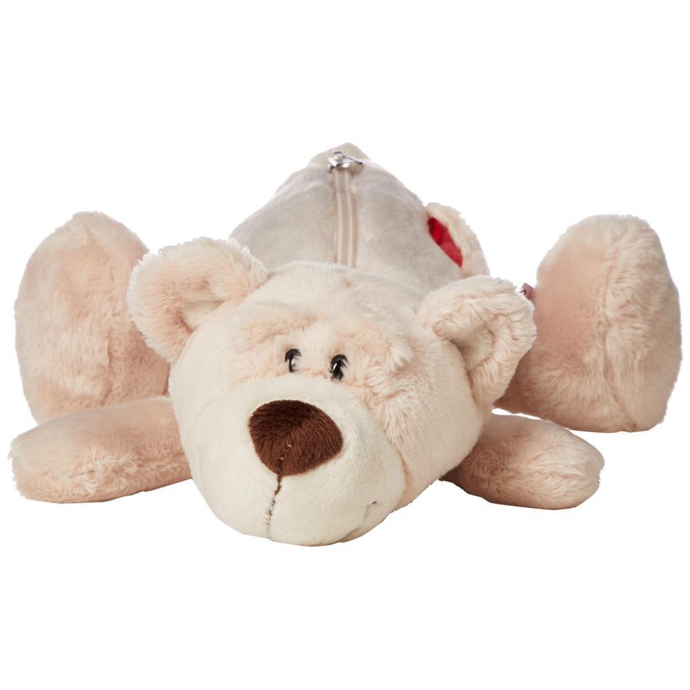 Love bear figure pouch