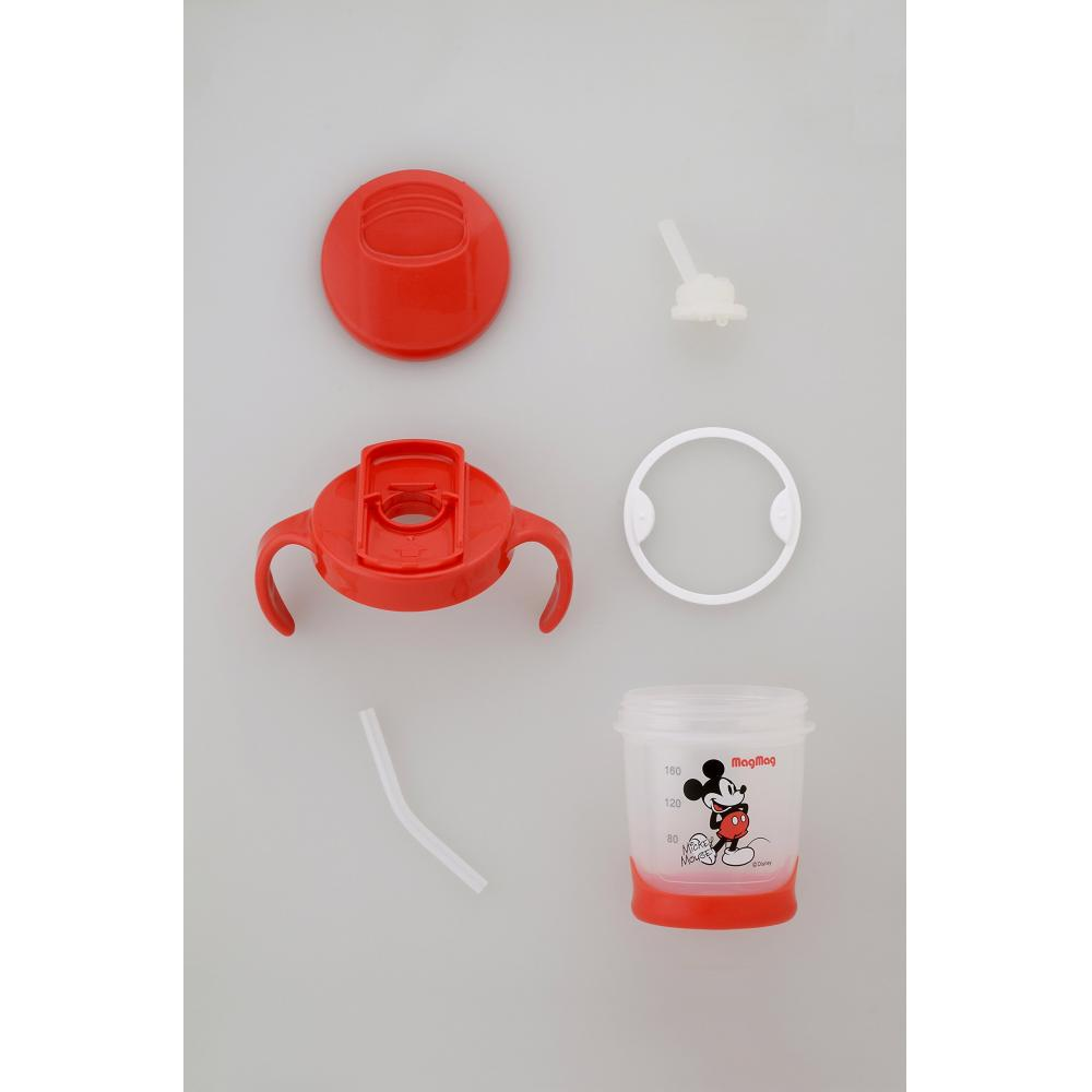 Pigeon Pigeon Mug Mag Straw Mickey 200ml Easy cleaning after 8 months Easy maintenance
