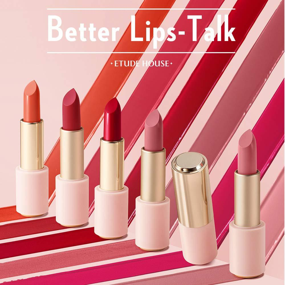ETUDE HOUSE Better Lip Talk Velvet RD312 Cold Red Lipstick 3.5g