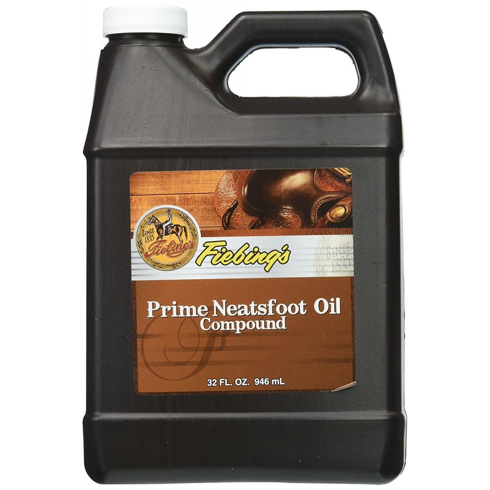 Oil type finishing agent Neat foot oil compound 236ml 1182021 82021