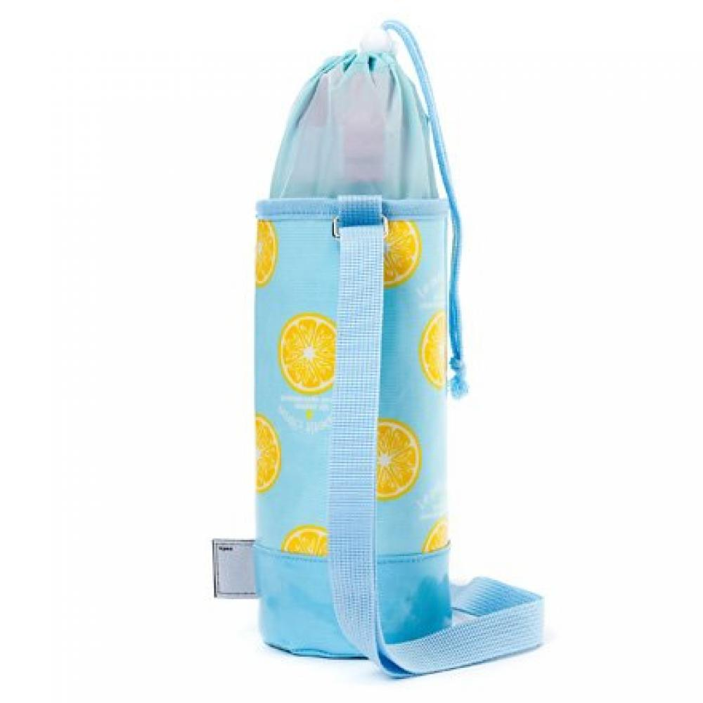 Water bottle cover large shoulder Citron lemonade N7318810