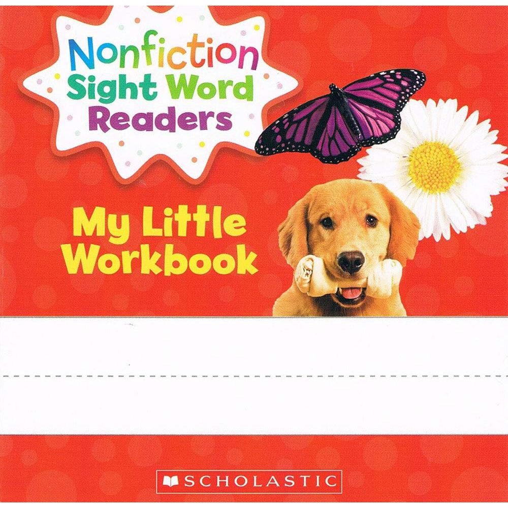 Scholastic Nonfiction Sight Word Readers level A English teaching 25-volume set with CD