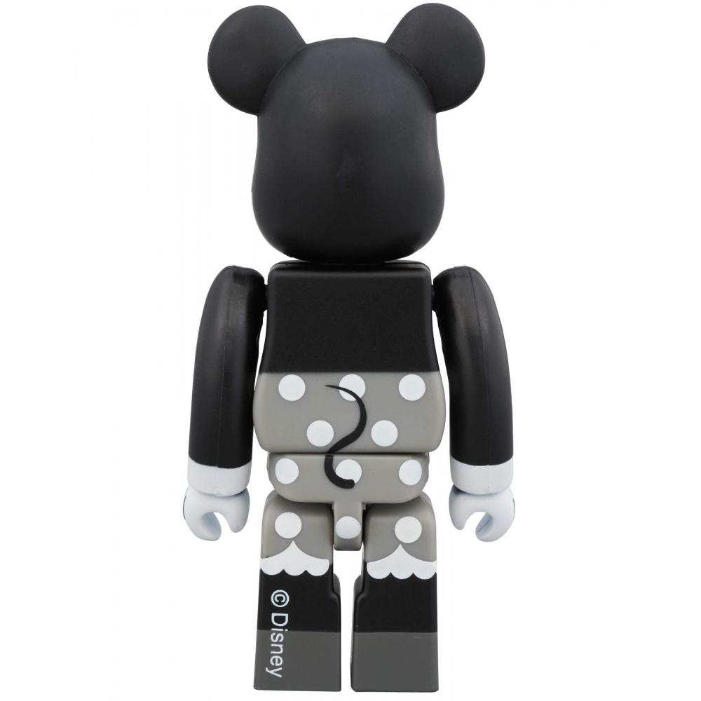 Bare brick Mickey Mouse & Minnie Mouse 100% B & W version 2 pack Height approx 70mm Painted figure