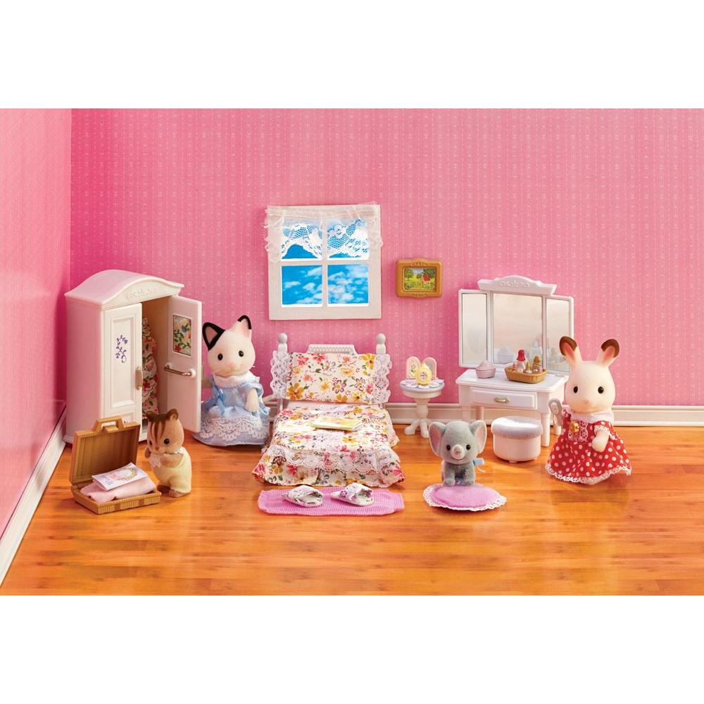 [Calico Critters] Calico Critters Lavender Bedroom CC2271