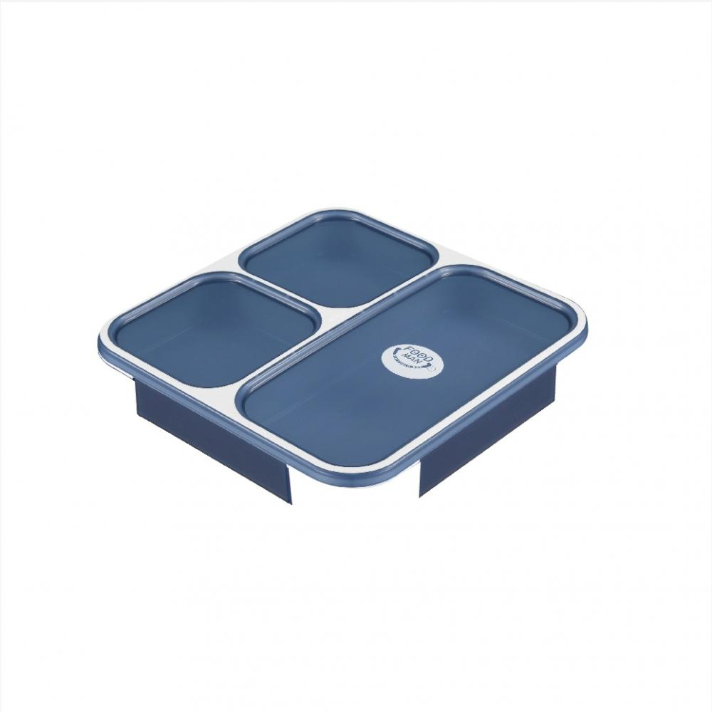 CB Japan Replacement Parts Clear Navy Thin Bento Box Foodman 800ml Dedicated Lid DSK