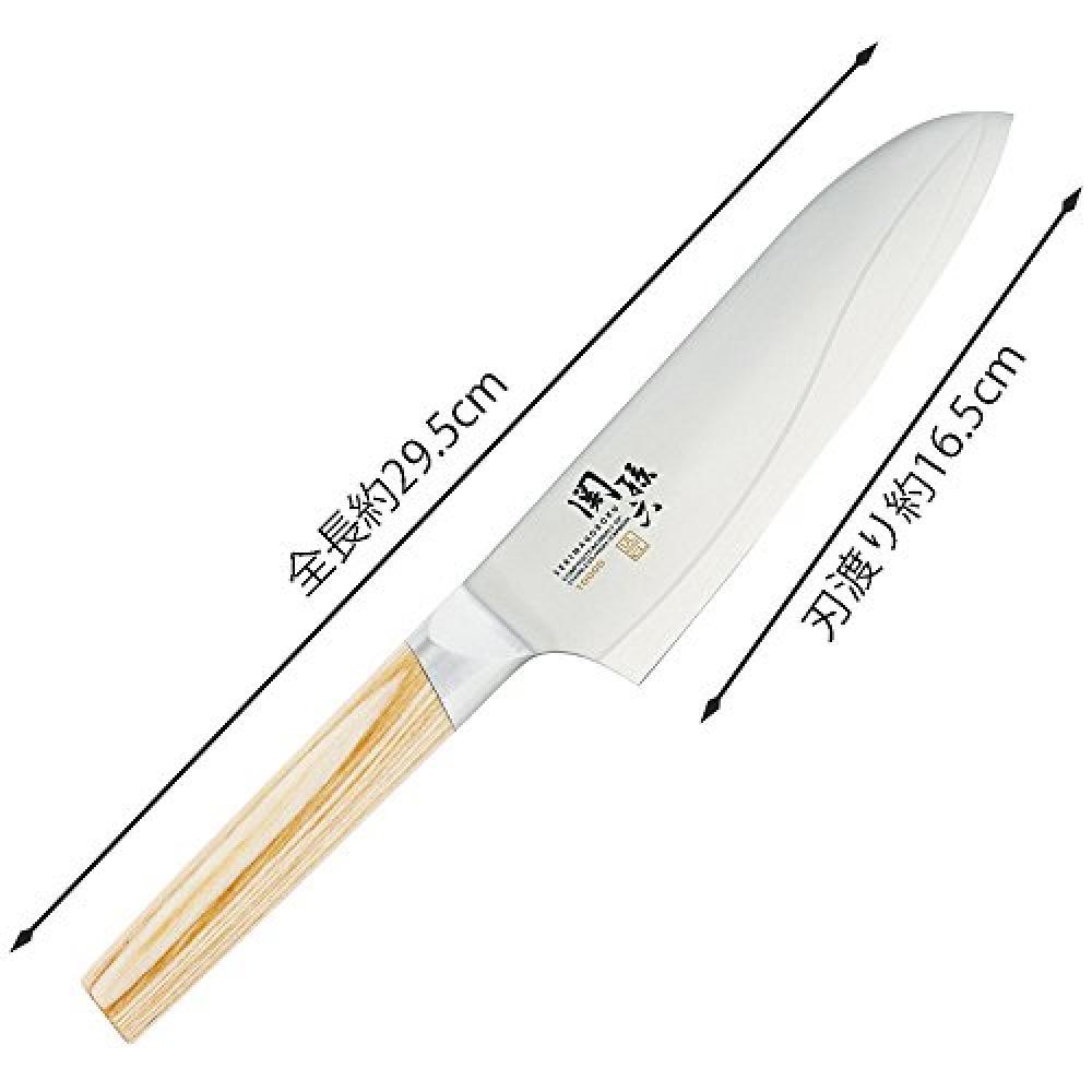 Kai KAI Santoku Knife Seki Sonroku 10000CL 165mm Made in Japan AE5254