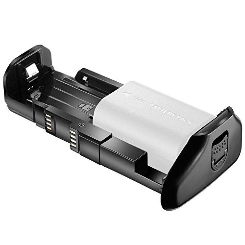Neewer Pro camera Battery Grip Canon BG-E21 to work with alternative Canon 6D Mark II DSLR one corresponding to the camera or two LP-E6 Rechargeable lithium-ion batteries (batteries unexpected included)