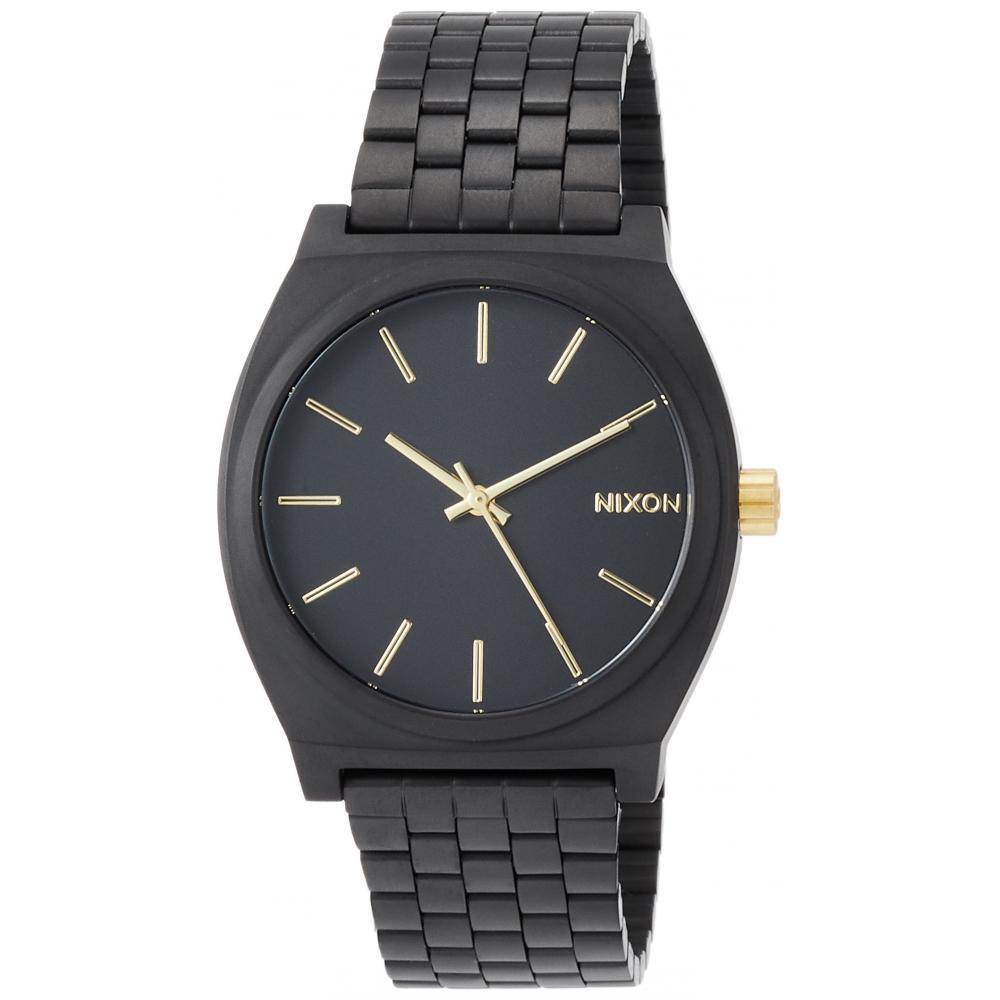 NIXON Watch TIME TELLER MATTE BLACK / GOLD NA0451041-00 Men