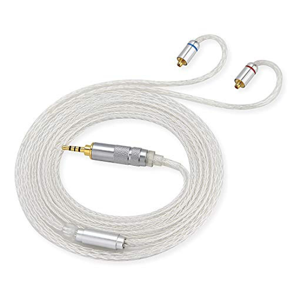 Sounds Good 16-core handmade re-cable WhiteSnake WS-MB [MMCX-2.5mm]