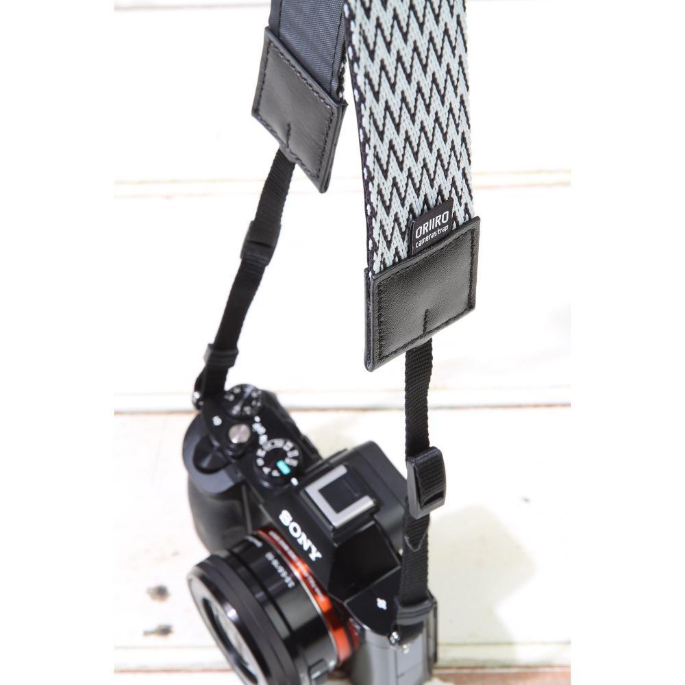 HAKUBA Camera Strap Oriiro Strap 40mm Zigzag KST-ORZZ40BW for SLR
