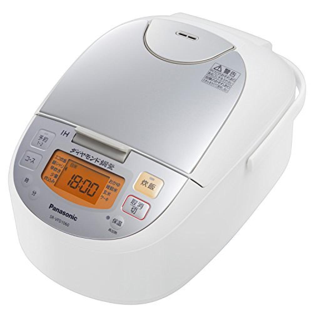 Panasonic IH jar rice cooker SR-VFD1060-W Silver White