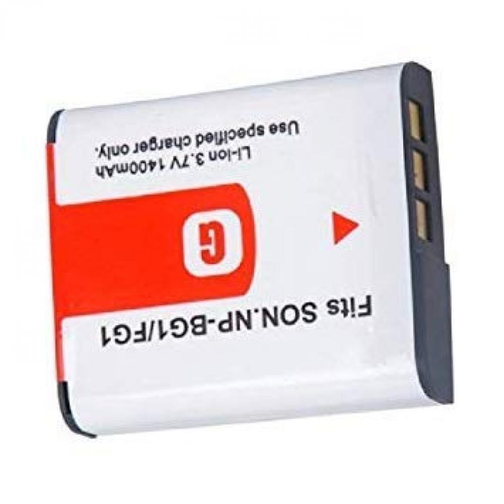 [Set of 2] SONY NP-BG1/FG1 compatible battery 3.7V 1400mAh