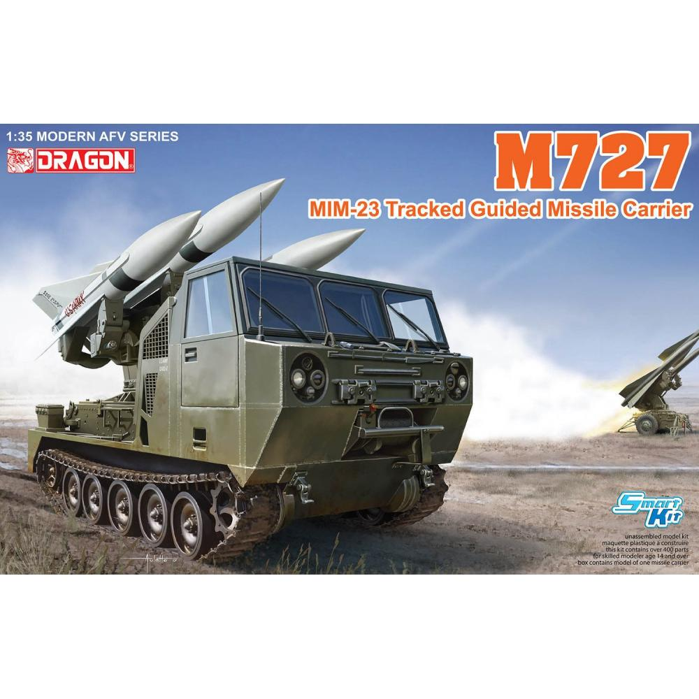 Dragon 1/35 US Army M727 Hawk missile self-propelled launcher Plastic model DR3583