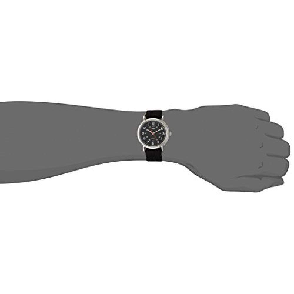 TIMEX Weekender Central Park black × black T2N647