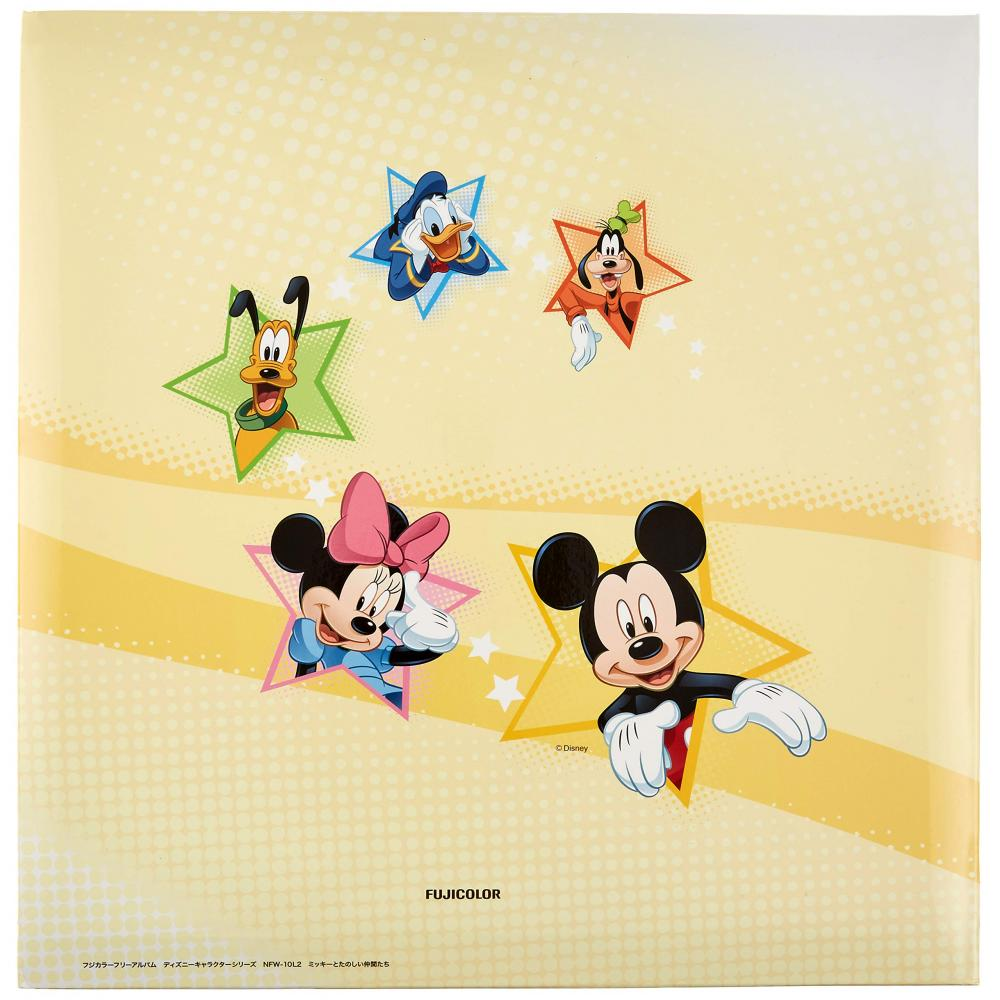 FUJICOLOR album free Disney NFW-10L2 Mickey and fun friends [White mount] 10 sheets mount (page 20) 17701