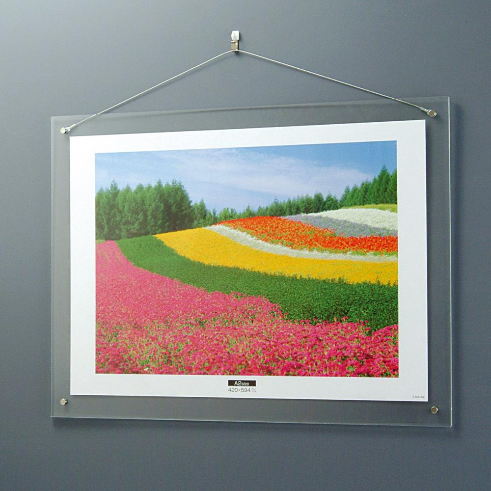 NAKABAYASHI Acrylic picture frame wall hanging type A2 F-ACH-A2