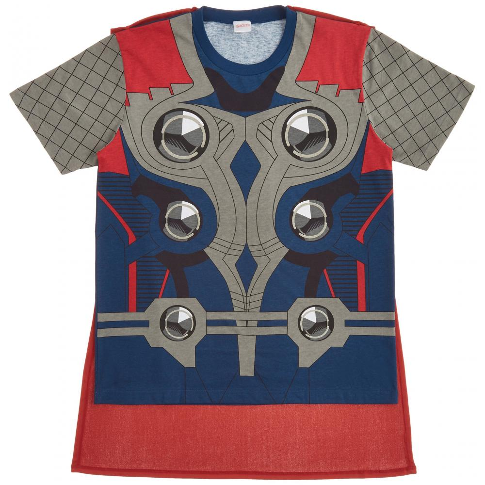 Marvel Mighty saw T-shirt set costume Men's one size fits all