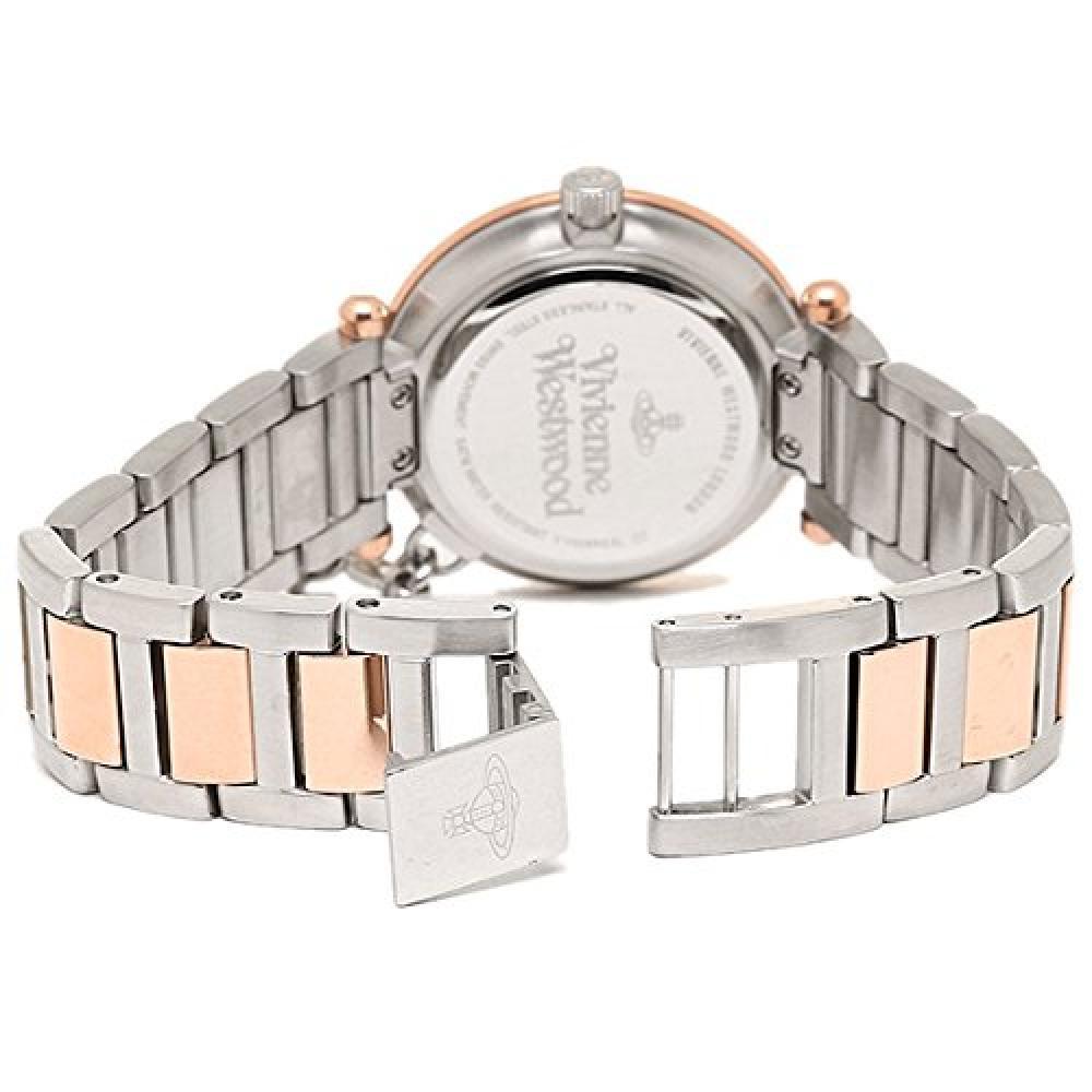[Vivienne Westwood] Vivienne Westwood [with watch storage case] Ladies pink gold silver stainless VV006RSSL watch