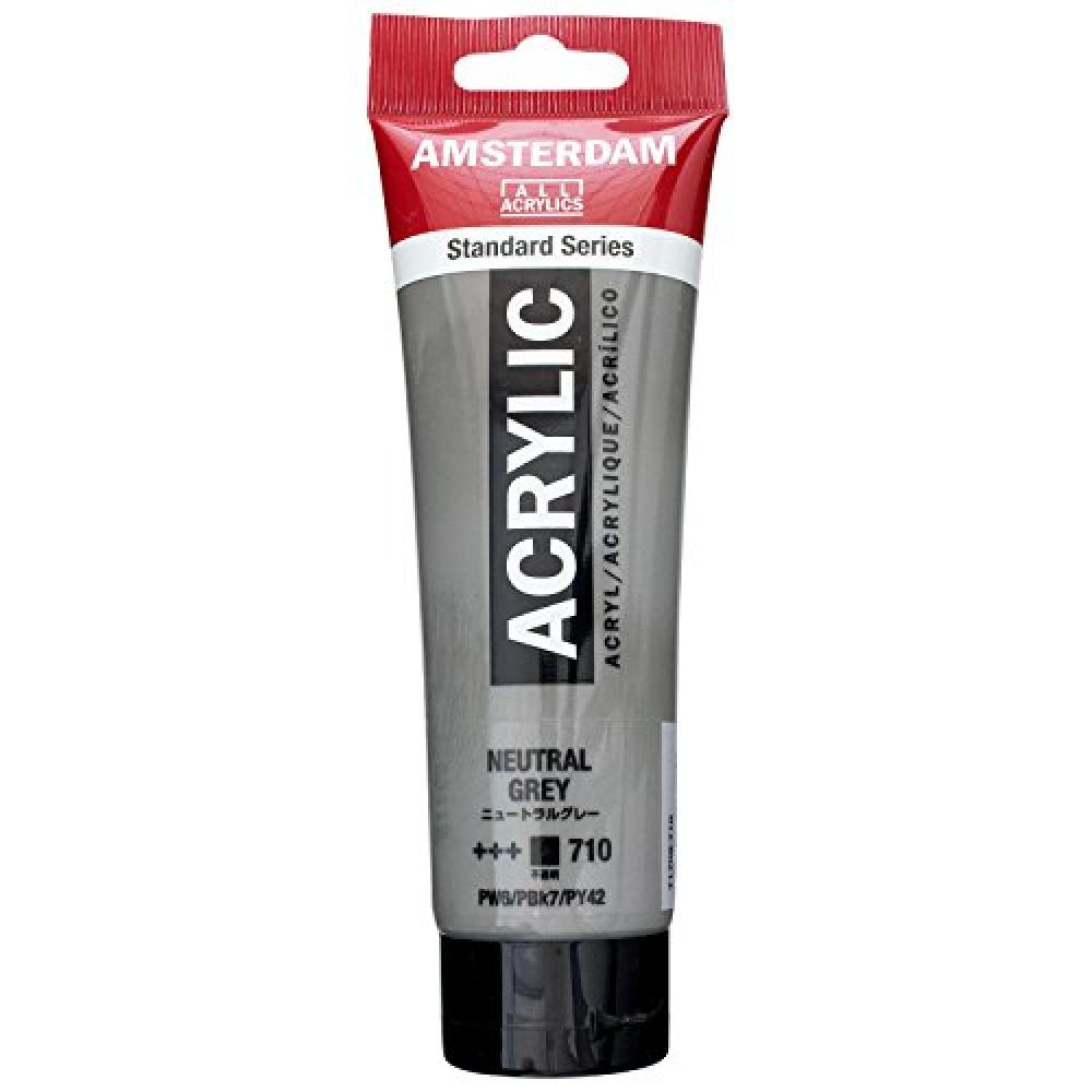 Turence Acrylic Paint Amsterdam Acrylic Color Neutral Gray T1709-710 120ml