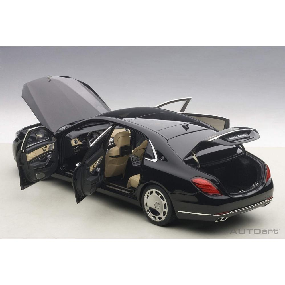 AUTOart 1/18 Mercedes Maybach S 600 (black) finished product