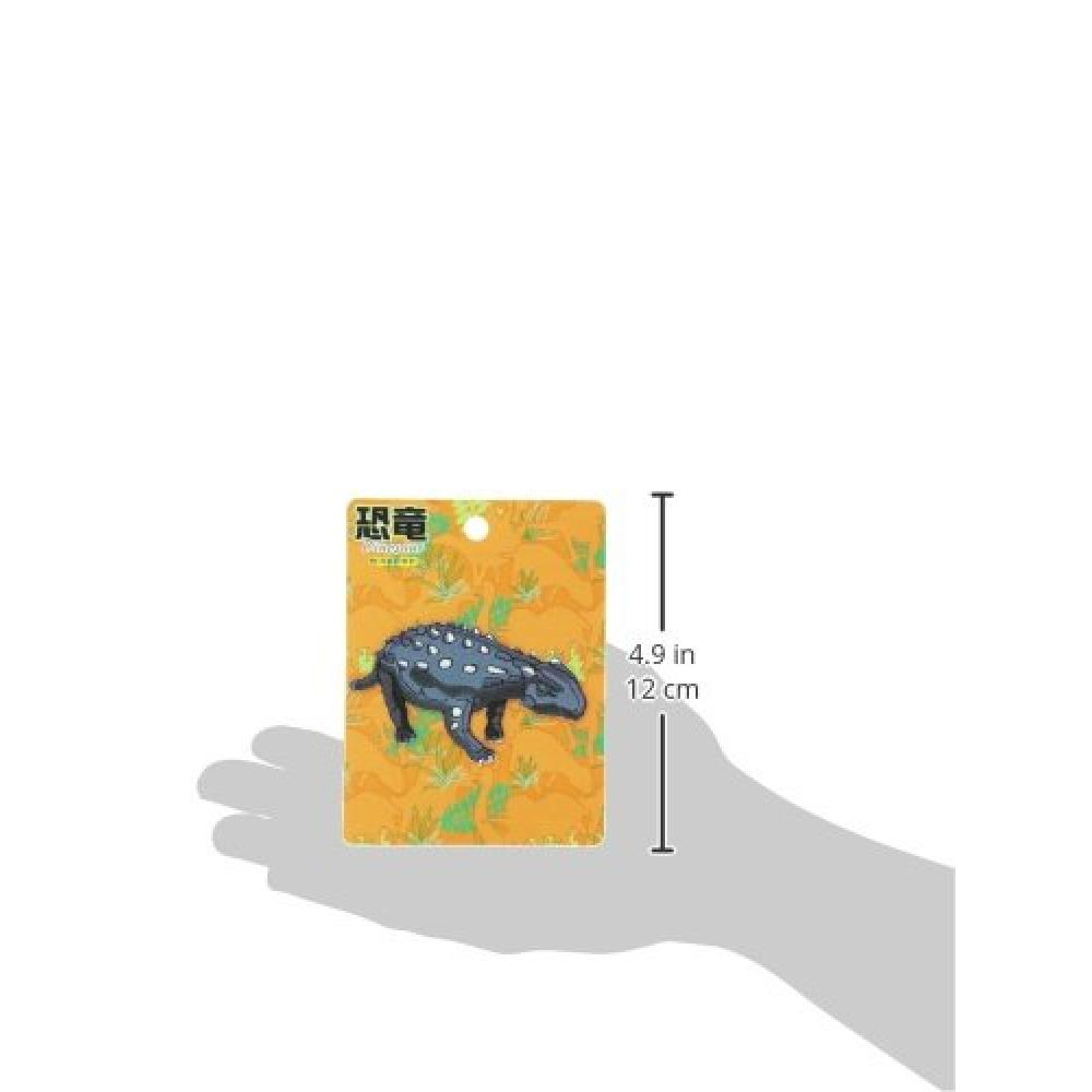 Inagaki clothing dinosaur die-cut emblem Ankylosaurus Iron adhesive DSW006
