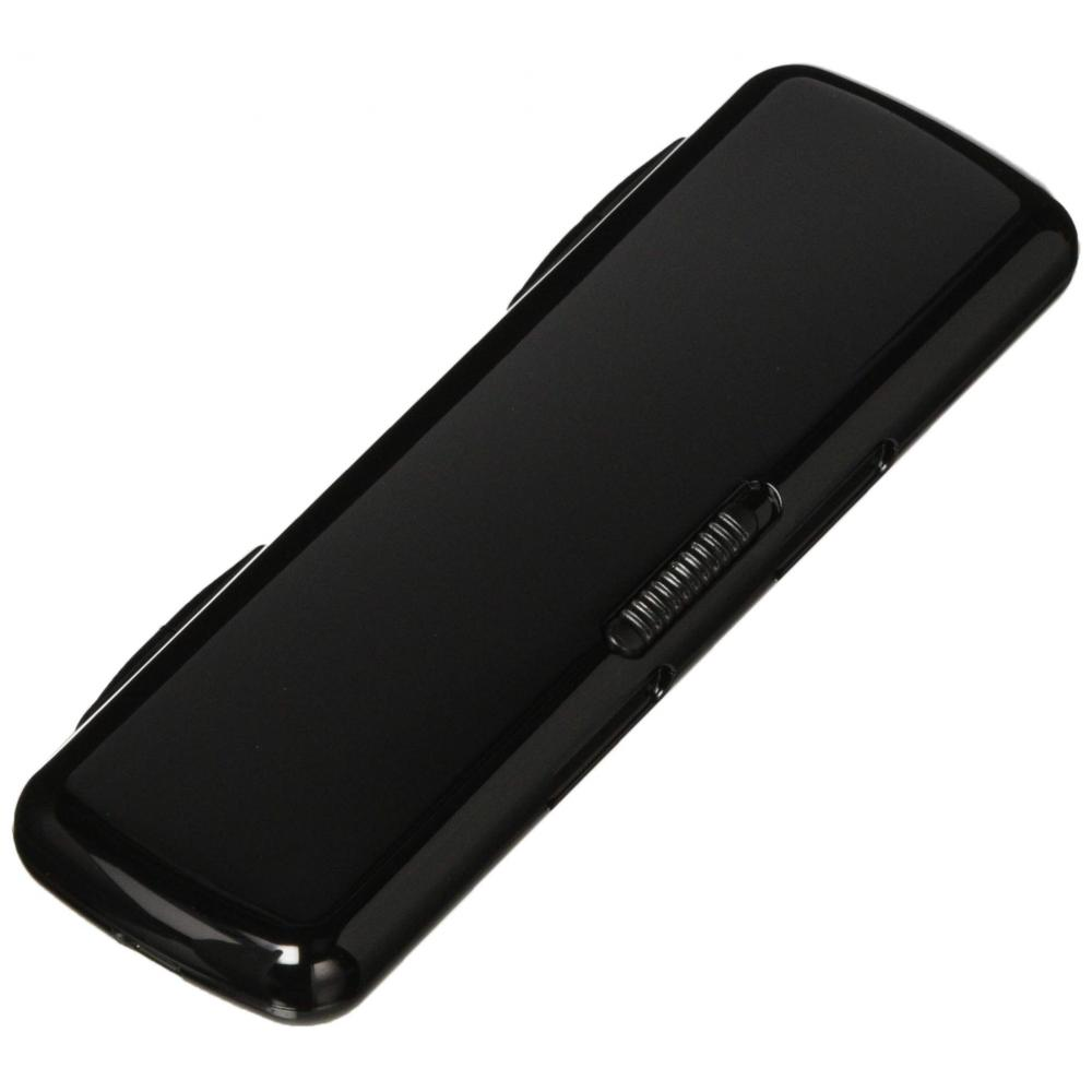 Komori resin chopsticks portable prefabricated black 21cm Made in Japan