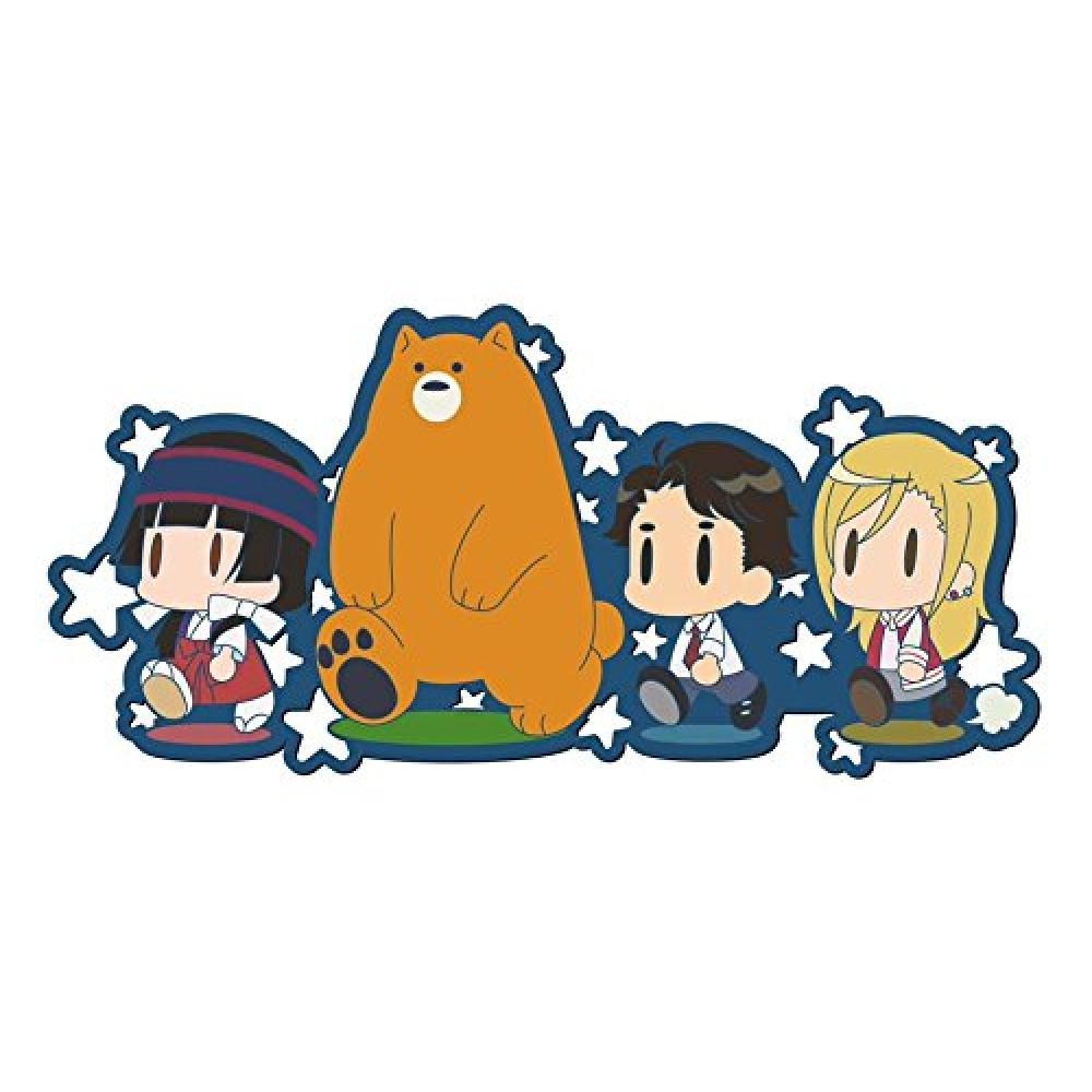 Works Collection Kumamiko rubber strap