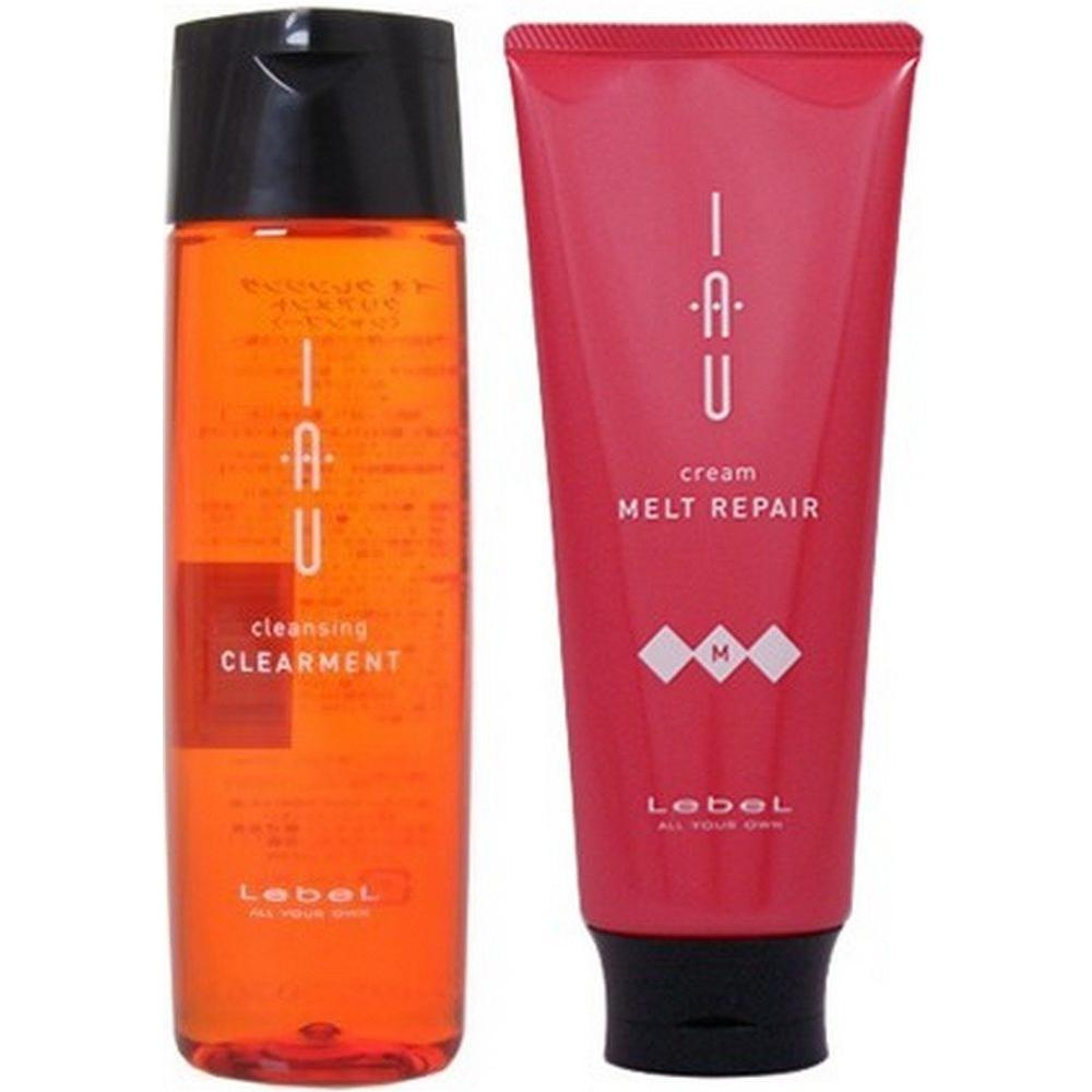 Rebel IAU Io Cleansing Clearment (Shampoo) 200ml & Io Cream Melt Repair Treatment 200ml
