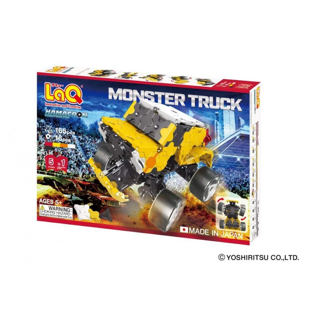 LaQ (Rakyu) Hama Klong constructor Monster Truck