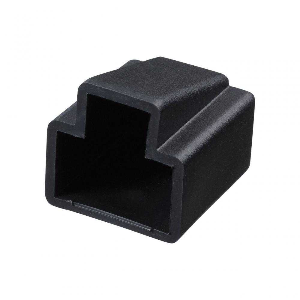 Sanwa RJ-45 plug cover black ADT-RJCVR2