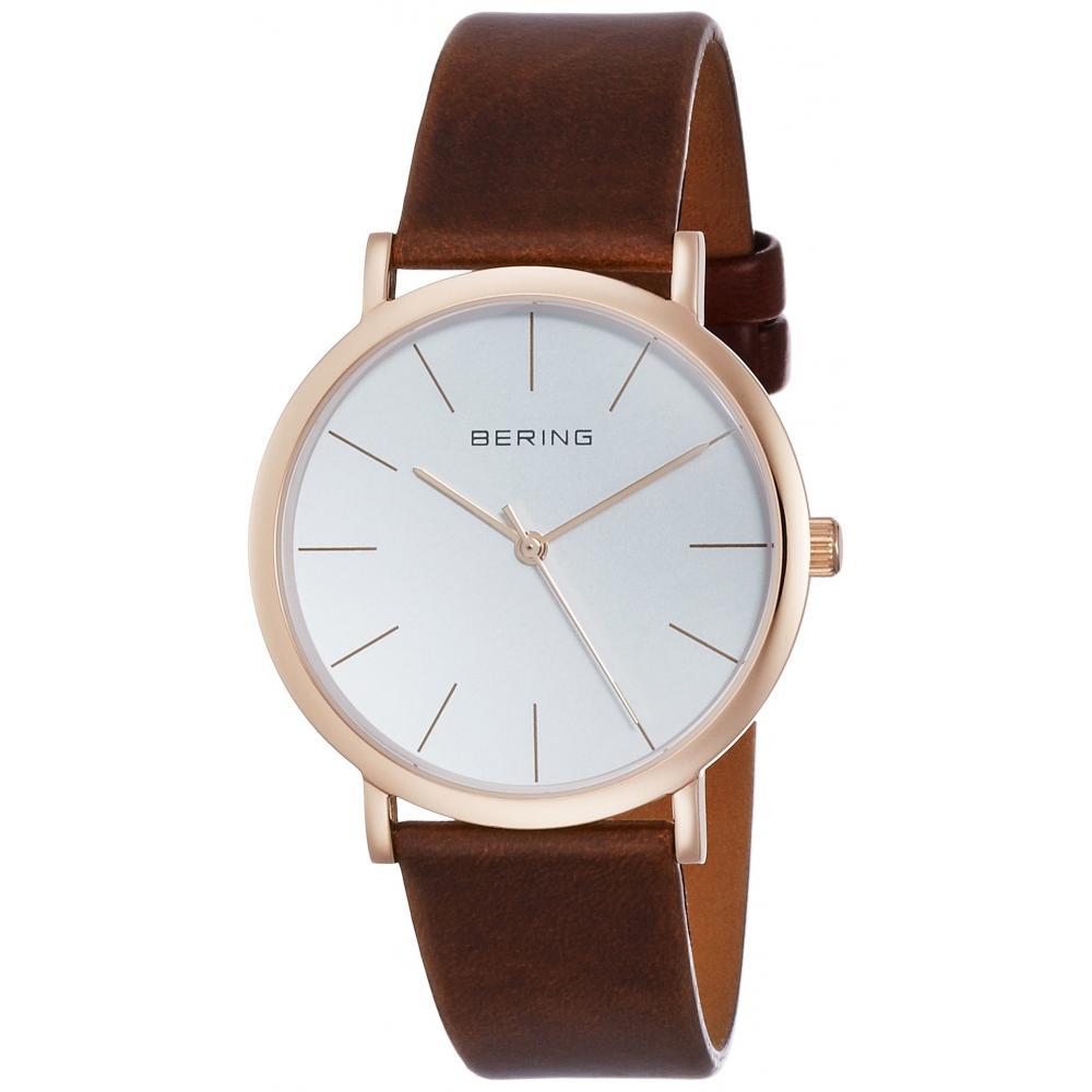 [Beering] Wrist Watch Classic Pair Model 13436-564 Brown