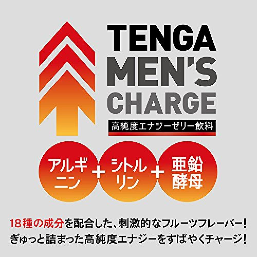 TENGA MEN'S CHARGE 10-piece box [high-purity energy jelly drink]