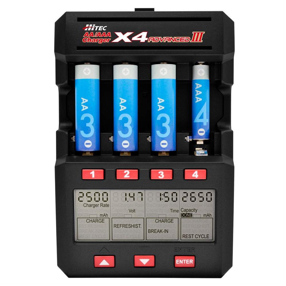 AA / AAA charger X4 AdvanceIII 44288 Japan regular article