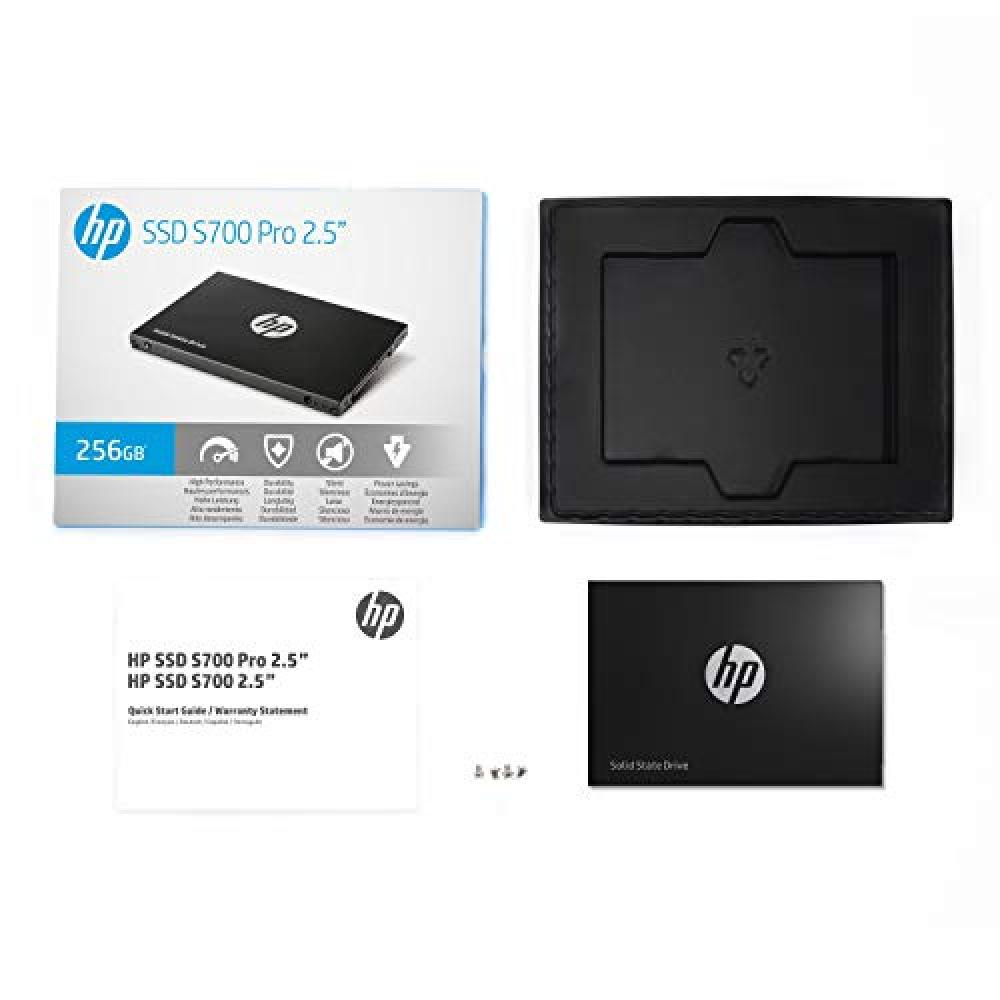 HP 256GB 2.5 inch built-in SSD S700 Pro series 7mm/SATA3.0/3D TLC/DRAM cache mounted/2AP98AAUUF