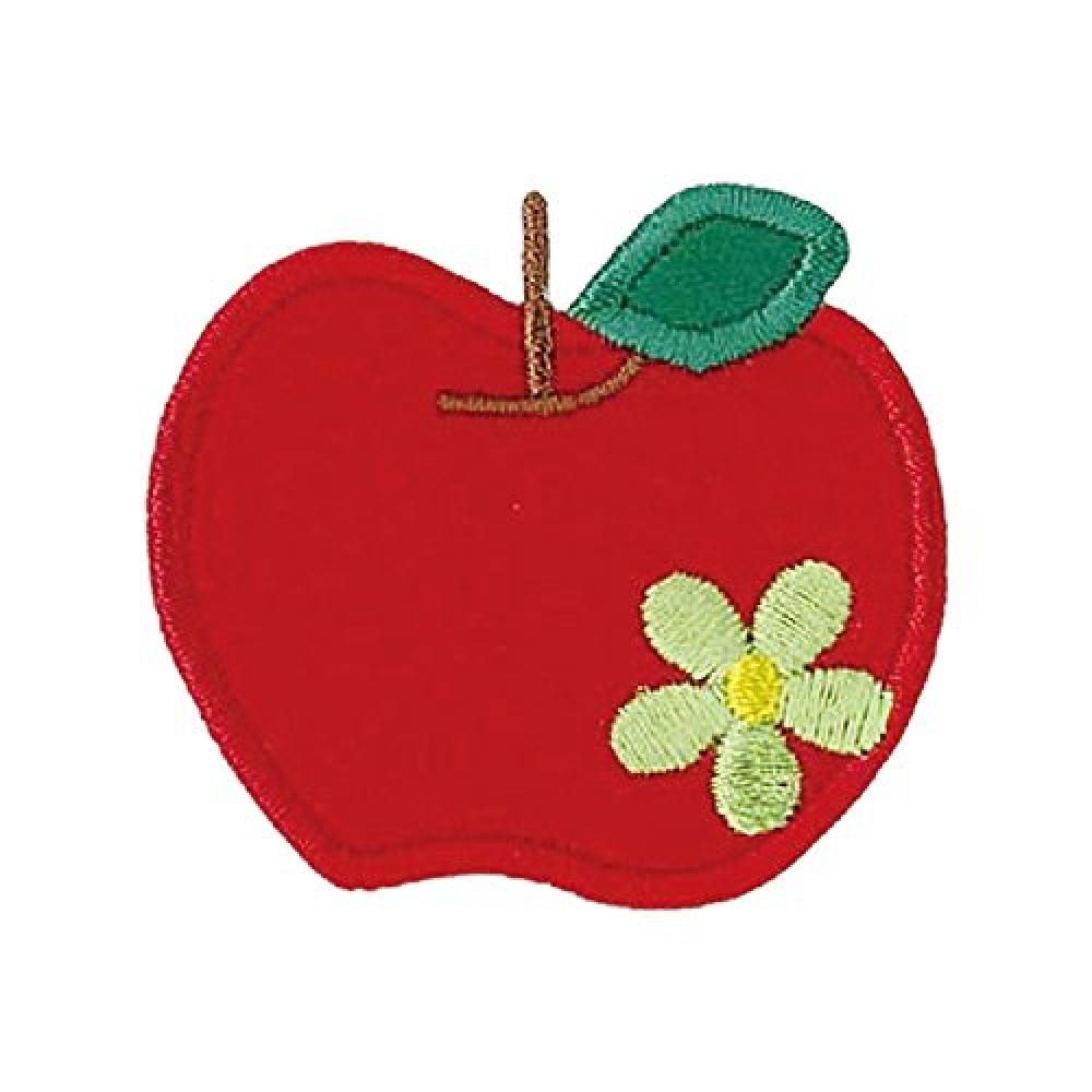 KIYOHARA favorite emblem Apple width of about 5.1cm × 4.6cm 1 vertical pieces MOW313