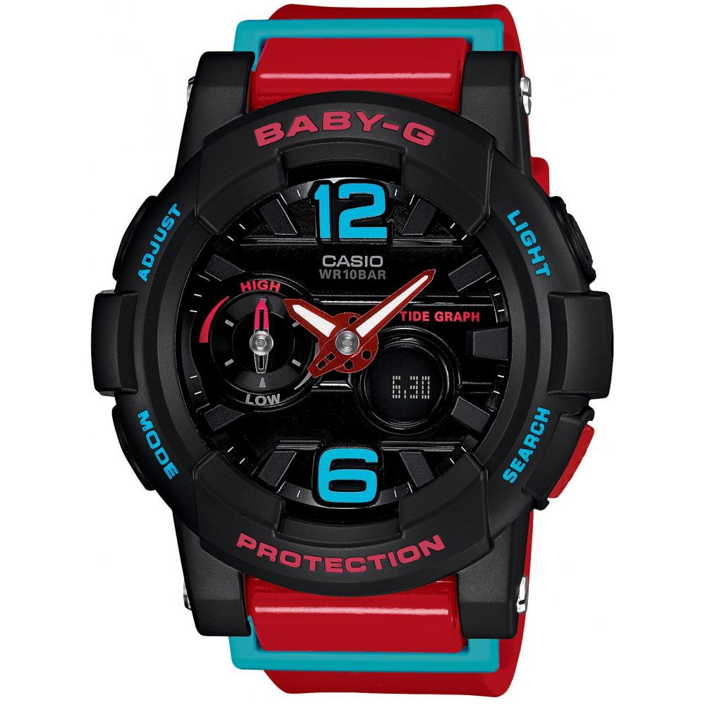 [Casio] Watch Baby Gide with Tide Graph G-LIDE BGA-180-4BJF Red