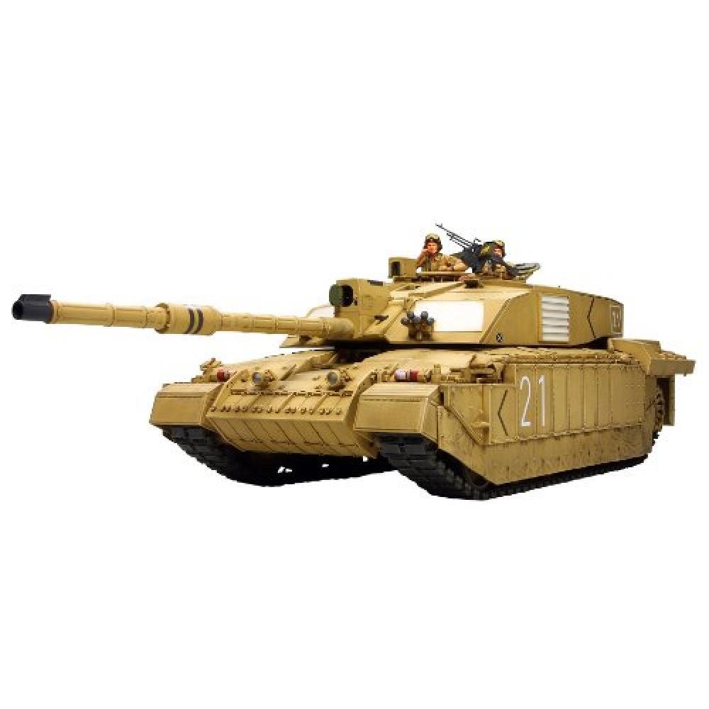 Tamiya 1/35 Military Miniature Series No.274 British Army main battle tank Challenger 2 Iraq specification plastic model 35274
