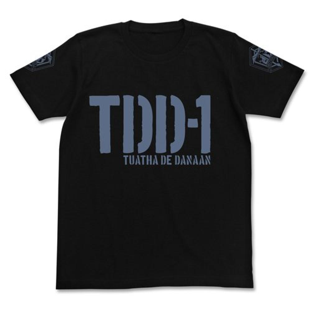 Full Metal Panic Invisible Victory TDD-1 Military T-shirt Black M size