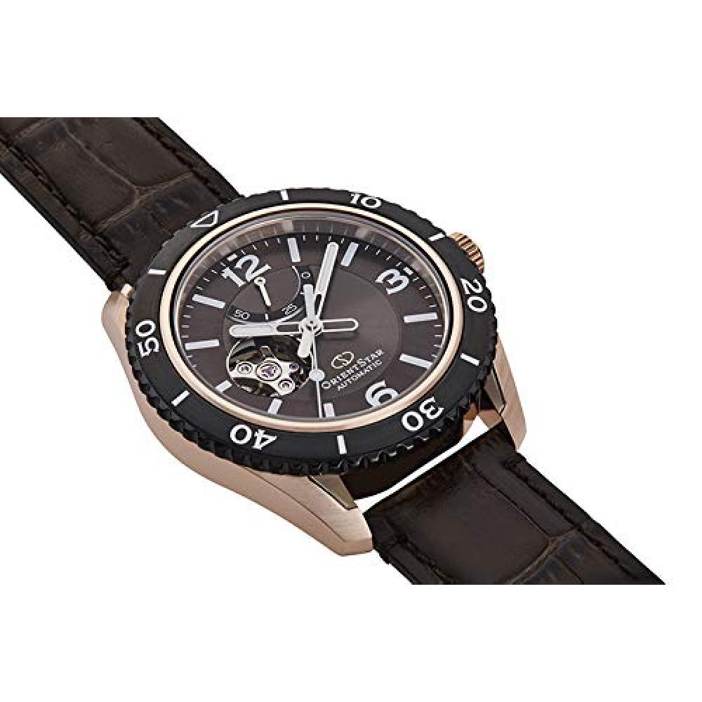 [Orient Watch] Wrist Watch Orient Star Sports Semi Skeleton Power Reserve 50 Hours RK-AT0103Y Men's Black