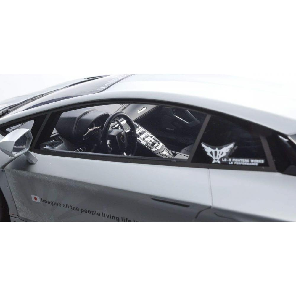 Kyosho original 1/12 LBWORKS Aventador mat gray finished product