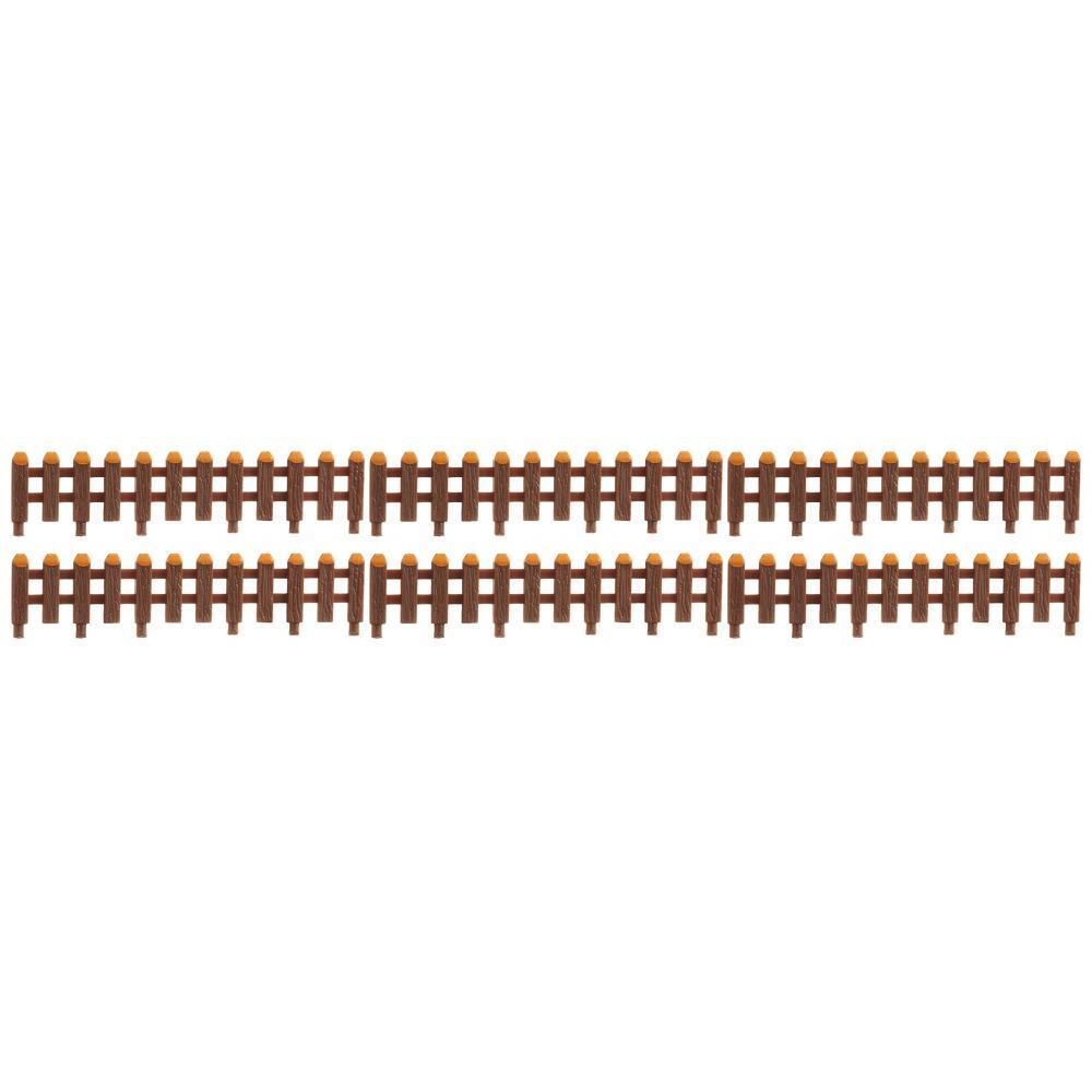 N scale LA-42 Rail fence (6 pieces)
