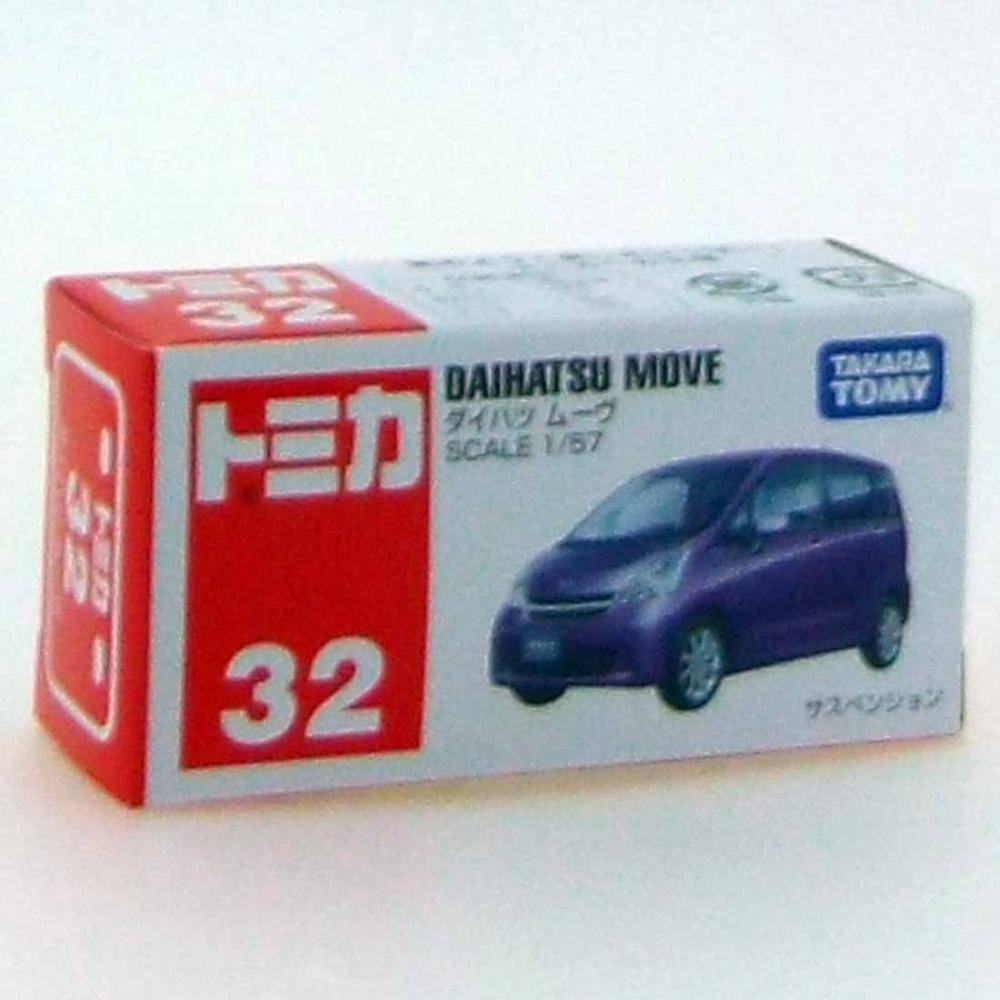Tomica №032 Daihatsu Move (box)
