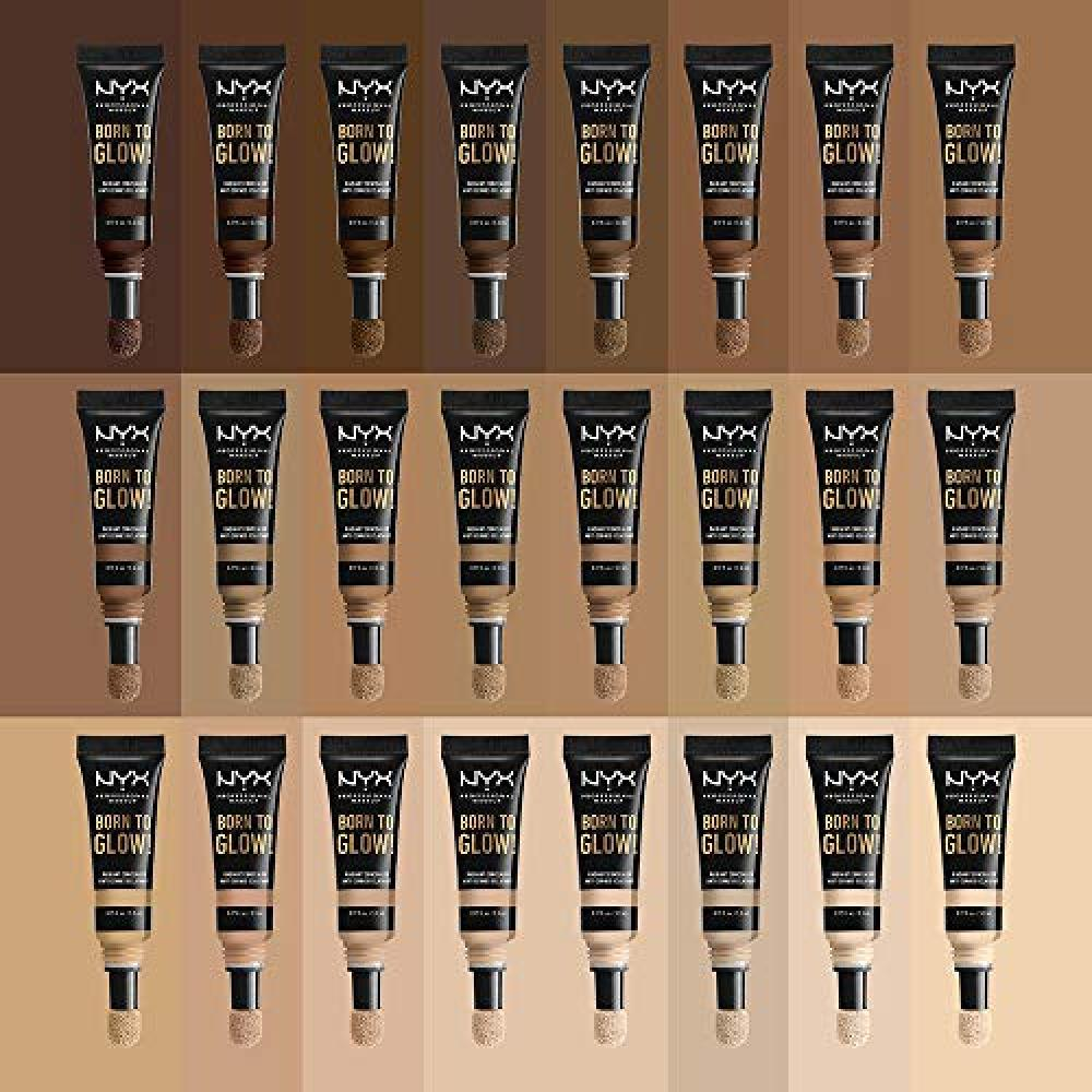 NYX Professional Makeup Bone To Glow Radiant Concealer Liquid 14 Color Golden Honey 5.3ml