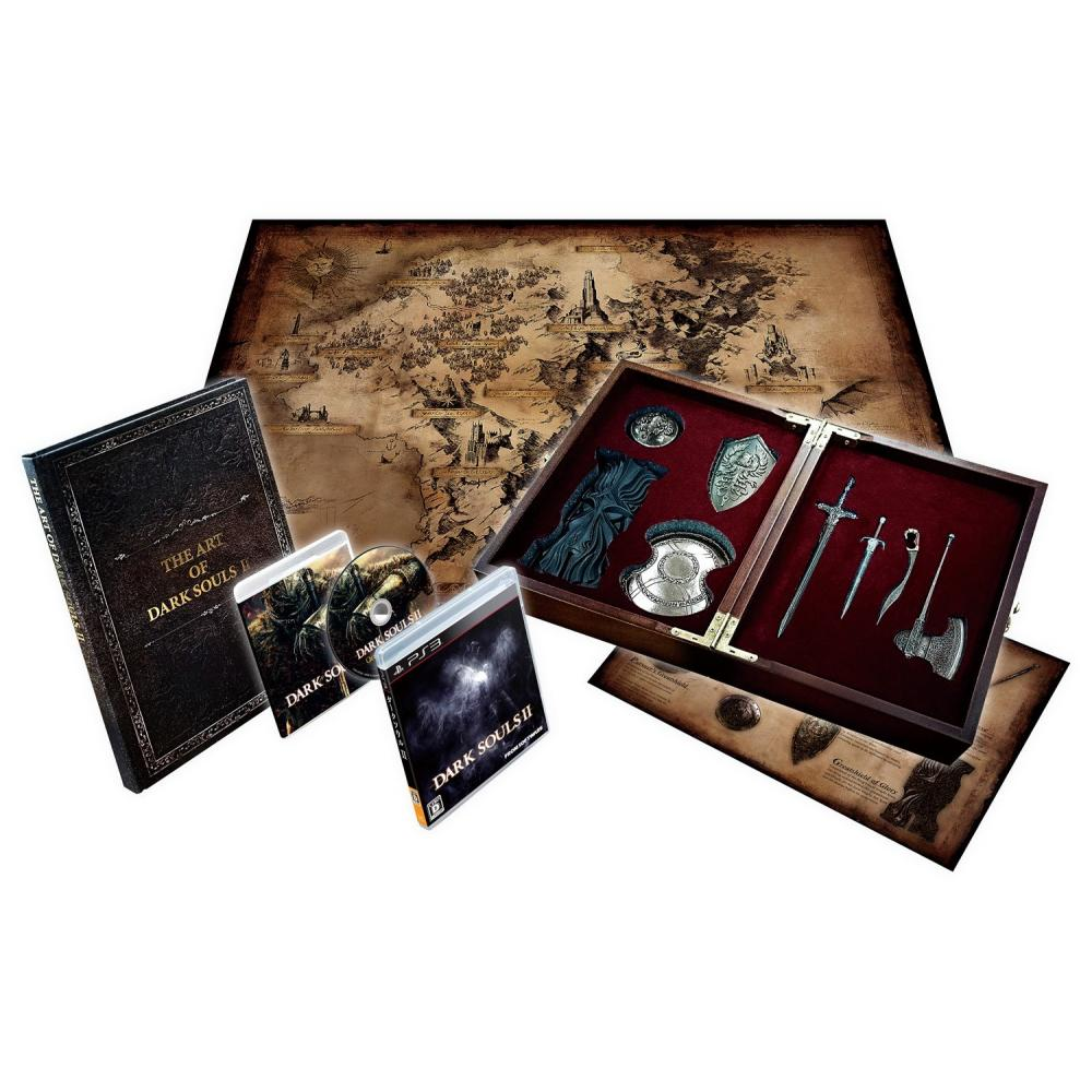 Dark Souls II Collector's Edition (Special Includes Special Map & Original Soundtrack)-PS3