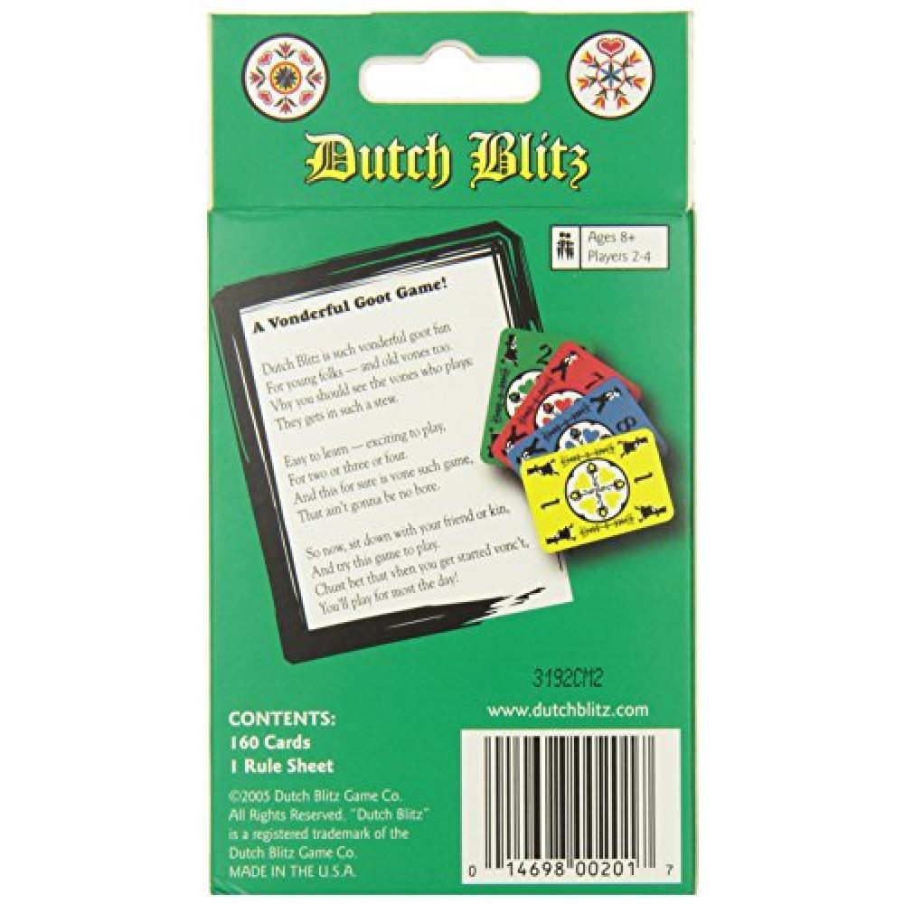 Dutch Blitz Dutch Blitz card game (English)