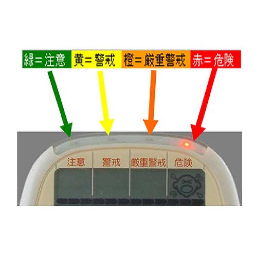 TANITA Digital Simple Heat Stroke Index Meter TT-553-OR