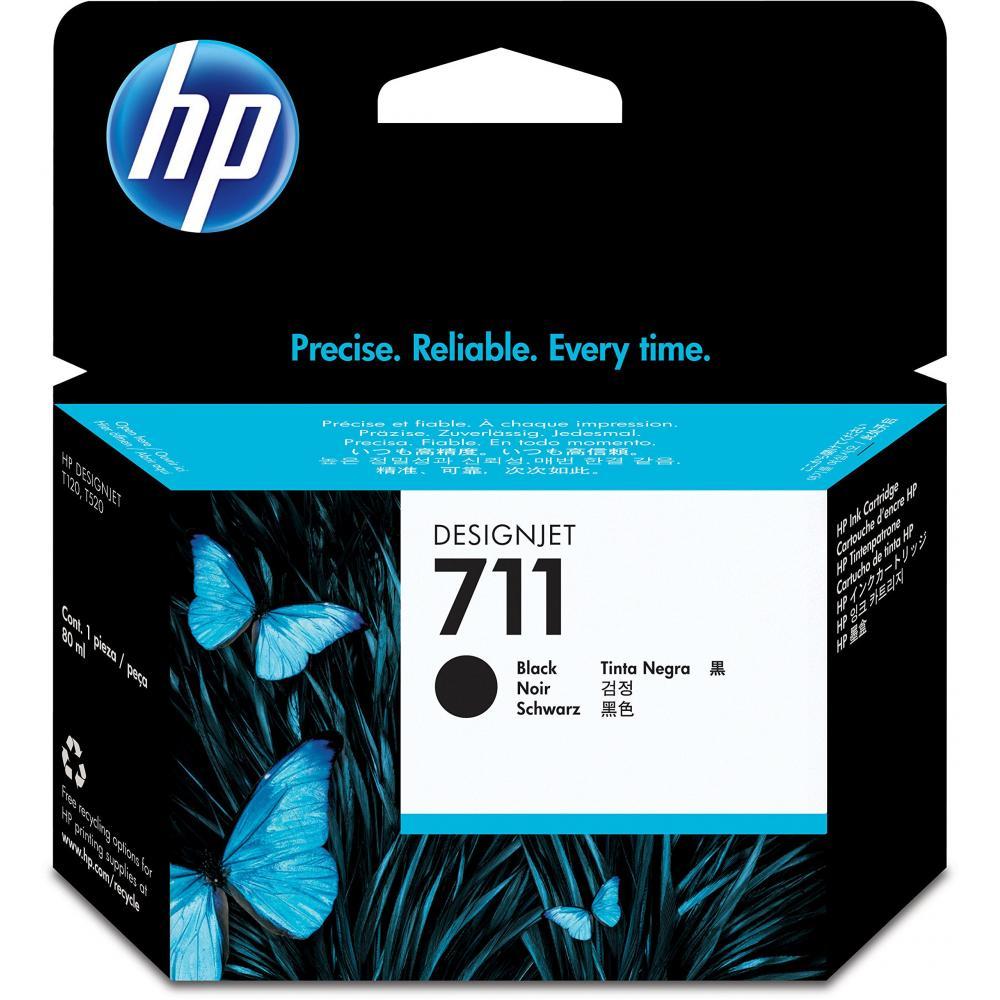 HP HP711 Ink Cartridge Black 80ml CZ133A