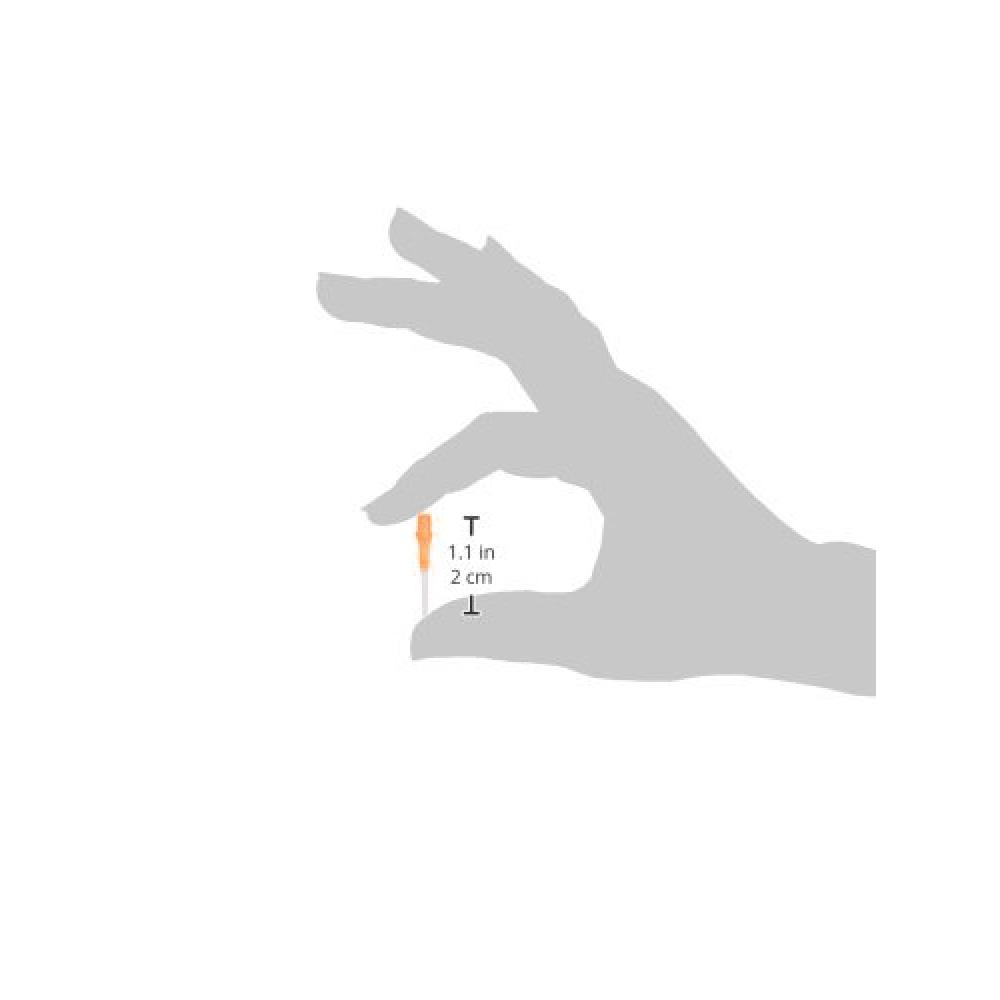 El style lip point tip gradient orange 30pcs ott1051