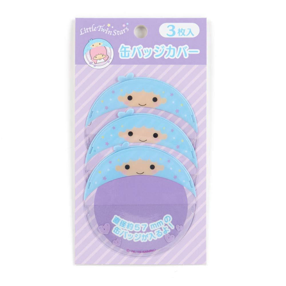 Little Twin Stars cans badge cover 3 pieces Kiki (crush pushing things Goods)