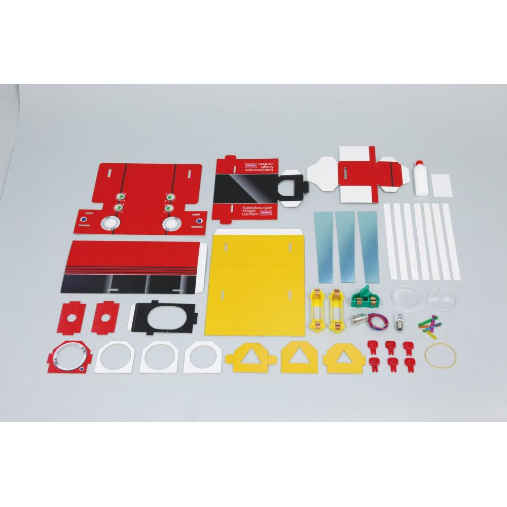 [Science work] Reflection of light Projection kaleidoscope assembly kit (cosmetic box)